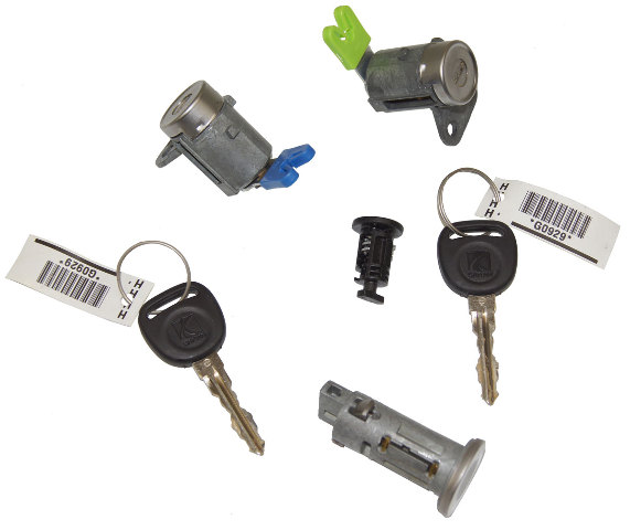 2007-2010 Saturn Sky Ignition+Doors+Glove Box Lock Cylinders W/2 Keys OEM New