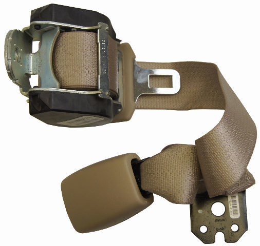 2004-2009 Malibu Aura G6 Rear Center Seat Belt Neutral Tan New 25906521 19180011