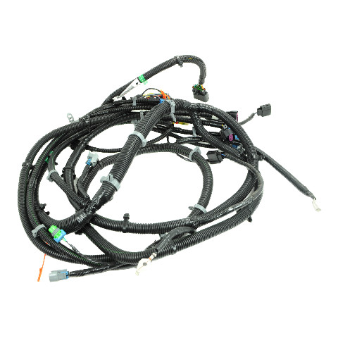 2009 Hummer H2 Front Lamp Wiring Chassis Headlight Harness New 25926709 25926708