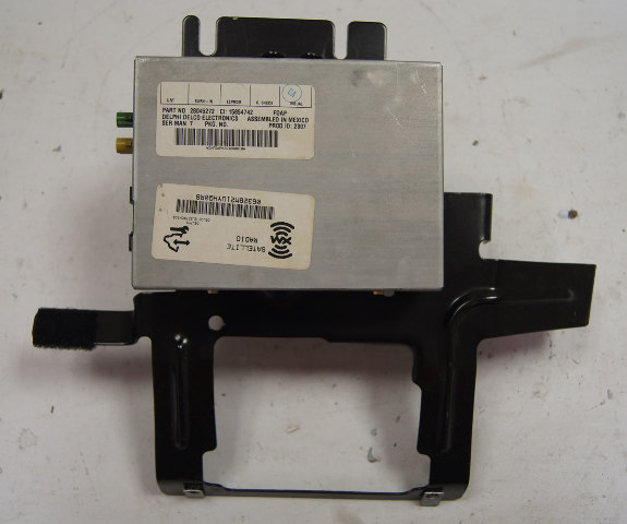2005-2013 Chevy Corvette C6 XM Satellite Radio Receiver W/Bracket Used 28045272