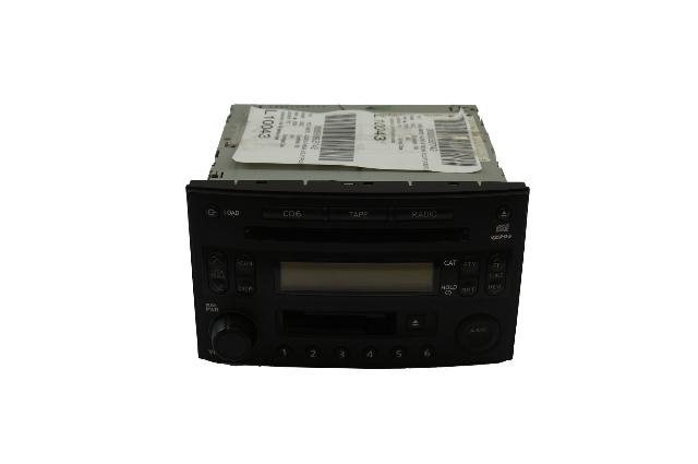 2004 NISSIAN 350Z BOSE RADIO AM FM 6 DISK CD PLAYER CHANGER  OEM 28188-CE801
