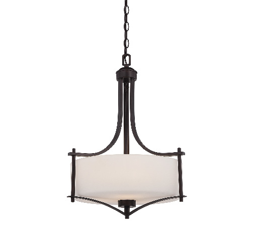 Savoy House Colton 3 Light Pendant English Bronze OpenBox