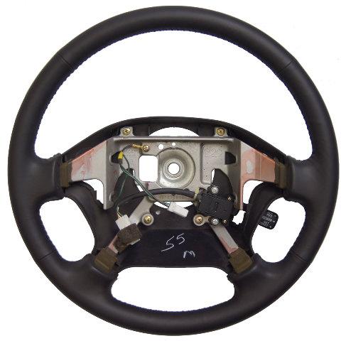 1995 Subaru Legacy Steering Wheel Black Leather with Cruise Control New OEM