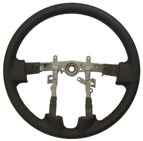 2007 2009 Mitsubishi Galant Black Leather Wrapped Steering Wheel New 4400A101XA