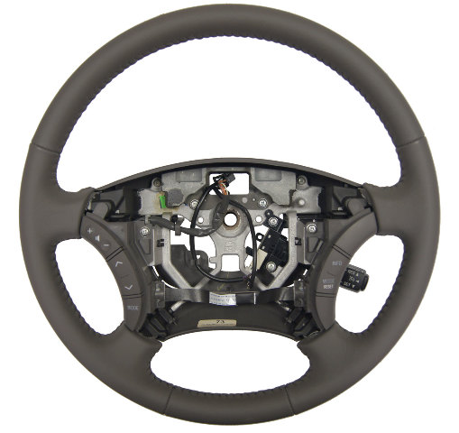 2005-06 Toyota Camry Steering Wheel Dark Charcoal Gray Leather New 4510006C11B0