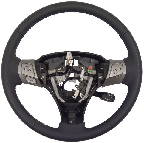 2007-2008 Toyota Solara Steering Wheel Gray Leather New OEM W/Cruise Audio Cont.