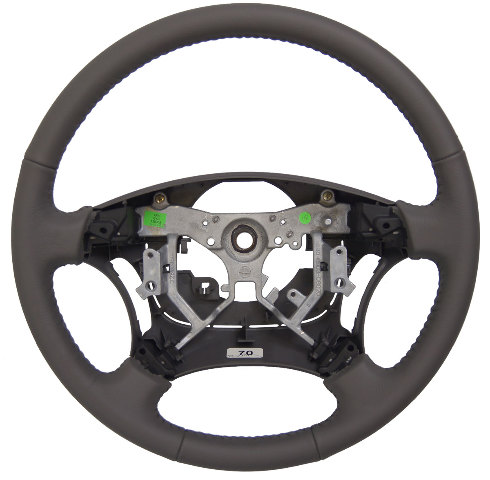 2005 2006 Toyota Camry Steering Wheel Charcoal Grey Leather New Oem 451000w180b2 Factory Parts