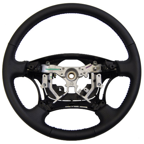 2006 2009 Toyota 4runner Steering Wheel Black Dimpled