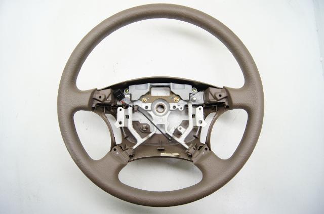 Toyota Camry 2005-2006 Tan Base Model Steering Wheel Polyvinyl