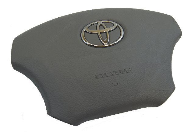2004-2010 Toyota Sienna Driver Airbag Stone Grey W/O Radio Controls 4513008030B0