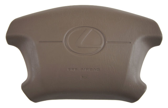 W E Lexus Es Steering Wheel Airbag New Oem Oak Tan W E W C on 1998 Buick Park Avenue Fuse Box