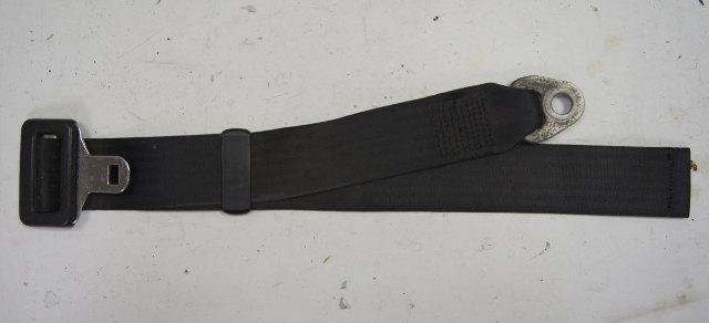1983-1987 Porsche 944 Seatbelt Black Lap Belt Used 477857795 477 857 795