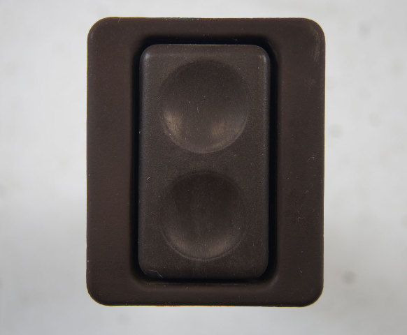 1983-1985 Porsche 944 Right RH Power Window Switch Used Brown Working 477867185