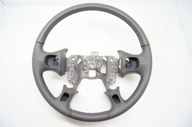 Buick LeSabre Le Sabre 2000-2005 Steering Wheel Dark Grey Leather