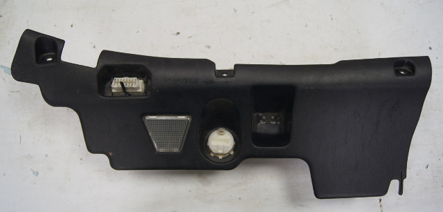 1993-1996 Lexus GS300 Lower Left Dash Panel Used OEM Black 55606-30170