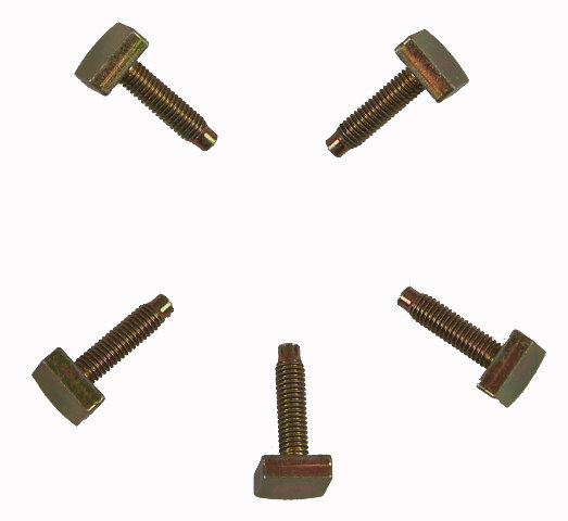 mitsubishi forklift bolts pack of 5 offset head m6 x 1 00