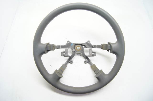 Mitsubishi Galant 1999-2003 Steering Wheel Grey Polyvinyl Without Controls