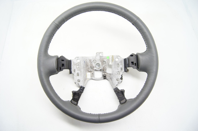 Cadillac 00-05 DeVille 01-04 Seville Steering Wheel Dark Grey Leather