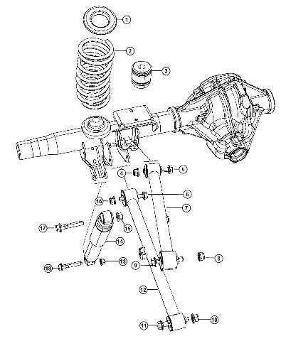 Dodge 1999 3500 4x4 Front End Axle Diagram