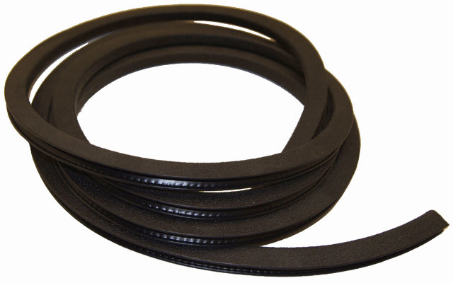 "5/16"" Pinch Weld Snap On Double Lip Style Windlace Rubber Protector 10ft Section"