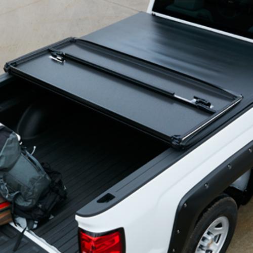 2014-18 Chevy Silverado 1500 Tri-Fold Tonneau Cover 6.5' Bed Black New 84023761