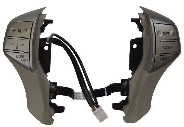 2008-10 Toyota Avalon Steering Wheel Audio HVAC Controls Grey New 8425007013B0