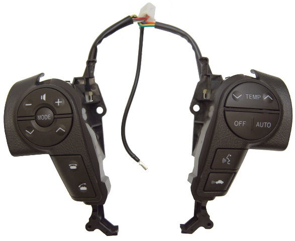 2008 2011 Toyota Sequoia Steering Wheel Switches New Dark