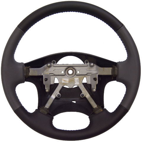1999-2001 Isuzu VehiCROSS Steering Wheel Grey & Black Leather New OEM 8971251411