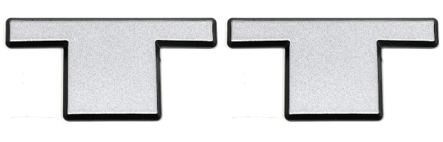 "Twin Turbo ""TT"" Emblem Badge Logo Decal"
