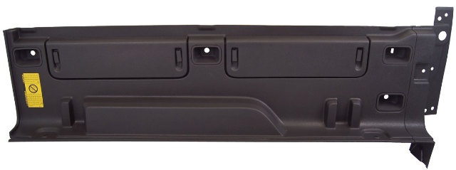 2009-2010 Hummer H3T Truck Bed Liner Right Side Storage New OEM Black 94742587
