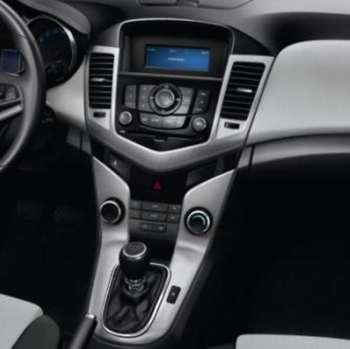 2011-2016 Chevy Cruze Interior Trim Kit Optic Check Pattern Silver New 96996409