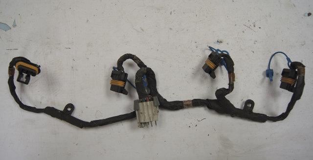1997-1998 Chevy Corvette C5 Coil Pack Wire Harness Used Damaged OEM