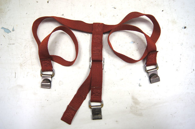 1968 1982 chevy corvette c3 t tops cargo straps red used