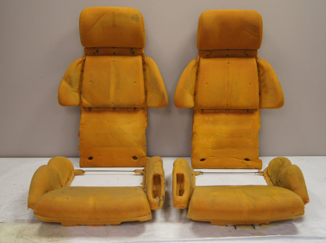1991-1993 Chevy Corvette C4 Sport Seat Foam Set 4pcs Used