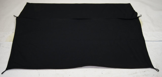 1997 2004 Chevy Corvette C5 Rear Cargo Privacy Cover Black