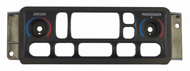 1997-2004 Chevrolet Corvette C5 Climate Control Replacement Face Plate Panel New