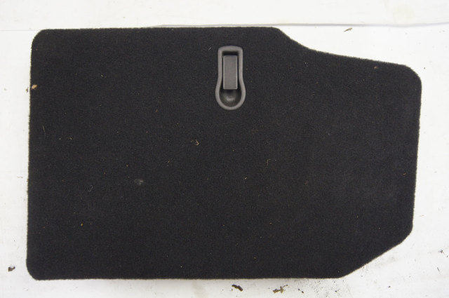 01-04 Chevy Corvette C5 Convertible Rear RH Black Storage Trim Cover Panel Used