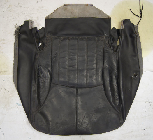 1997 2004 Chevy Corvette C5 Non Sport Driver Side Lower Seat Cover Black Used