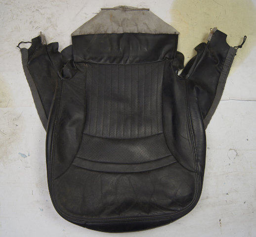 1997-2004 Chevy Corvette C5 Sport Driver Side Lower Seat Cover Black Used