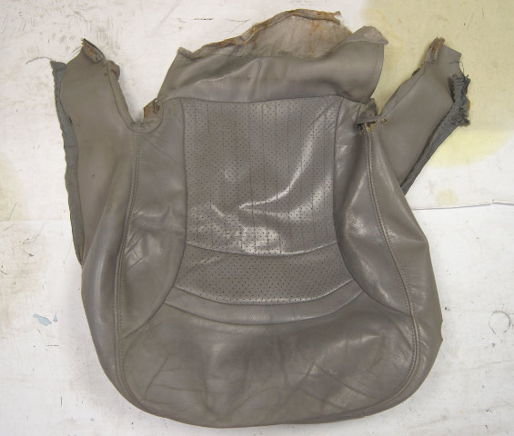 1997-2004 Chevy Corvette C5 Sport Driver Side Lower Seat Cover Gray Used