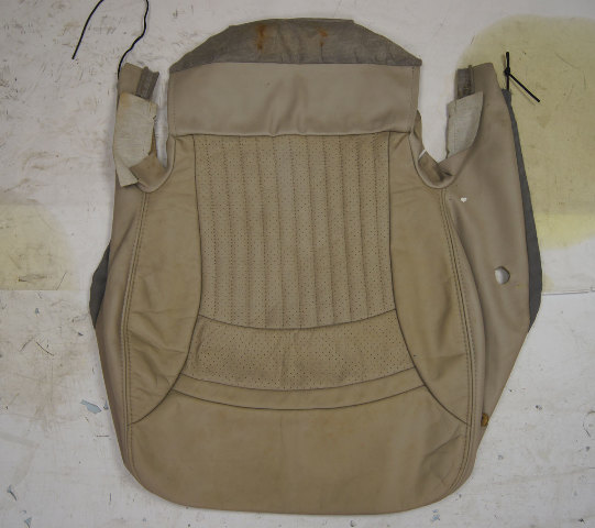 1997-2004 Chevy Corvette C5 Sport Driver Side Lower Seat Cover Shale Used