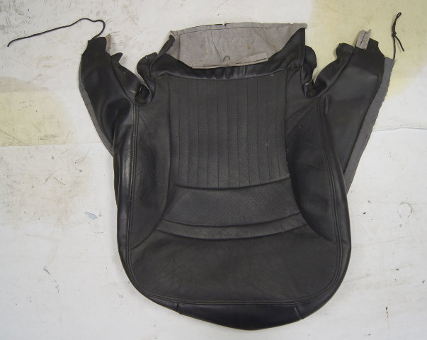 1997-2004 Chevy Corvette C5 Sport Passenger Side Lower Seat Cover Black Used