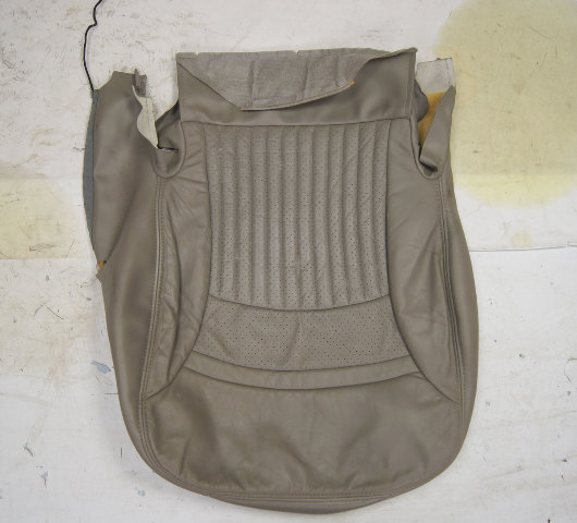 1997-2004 Chevy Corvette C5 Sport Passenger Side Lower Seat Cover Gray Used