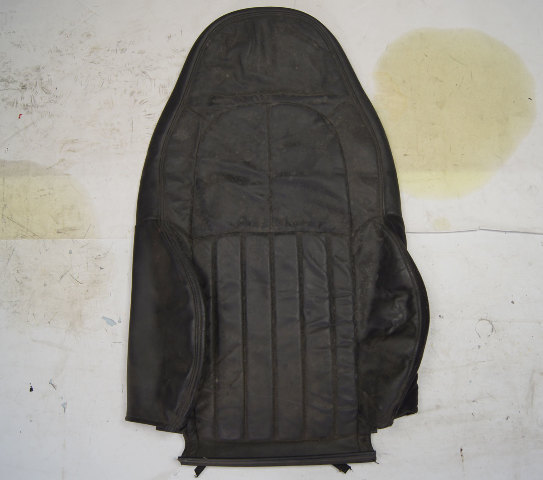 1997-2004 Chevy Corvette C5 Non-Sport Passenger Side Upper Seat Cover Black Used