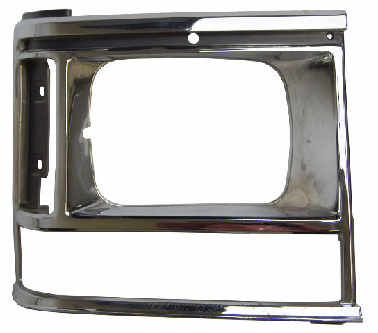 1987-90 Dodge Caravan Front Right Headlight Bezel Chrome New 4388216 DG07020HBR