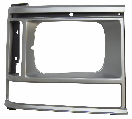 1987-90 Dodge Caravan Front Right Headlight Bezel Silver New 4388218 DG07020HAR