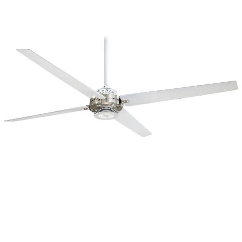 Minka Aire F726-WHF/BN Spectre White/Nickel 60