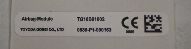 Caution Label Airbag Module CE Label Toyota New OEM