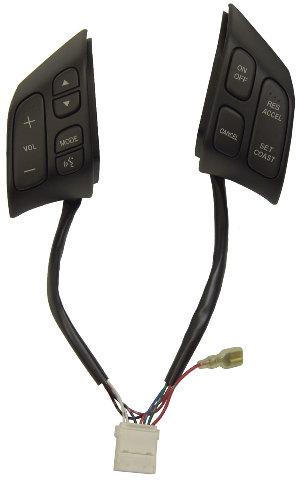 2006-2008 Mazda 6 Steering Wheel Switches New Black GK2E664M0A02  GP7A664M002