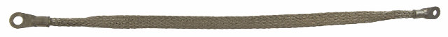 """General Motors Metal Ground Strap 19.375"""" Long .625"""" Wide 10MM Hole 6MM Hole New"""